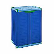 Armario Infantil 2 Puertas 94x45x65 cm Azul