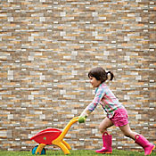 Fachaleta Cerámica Denver 25x41 cm Caja 1.54 m2 Multicolor
