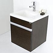 Mueble Fretum con lavamanos Pontus 45 Wengue