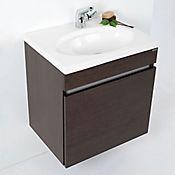 Mueble Noctis con Lavamanos Orbis 60 cm Wengue