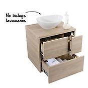 Mueble Pesaro Rovere 60 cm para lavamanos vessel