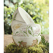 Set de 4 Bowls de 550 cc Lovely Garden