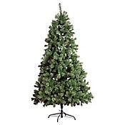 Árbol Navidad 2.1 mt 1433 Ramas Brillante Silver