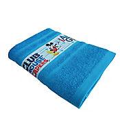 Toalla Mickey 70 x 130 cm Azul