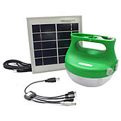 Lampara Solar con Cargador USB