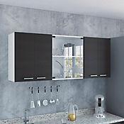 Gabinete superior vidrio 60 x 150 x 31.5 cm