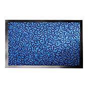 Tapete Decormat 60x40 cm Azul