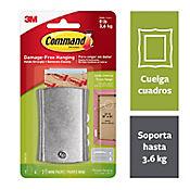 Gancho Adhesivo Cuadrado Metal Grande