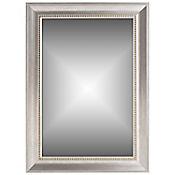 Espejo Decorativo 79x108 cm Plateado