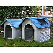 Casa Para Perro Plástica 87 x 72 x 75 cm