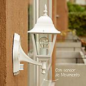 Farol de Pared Bristo 1 Luz E27 Blanco