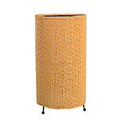 Lámpara de Mesa Bambú Natural 1 Luz 40w Rosca E27 Beige