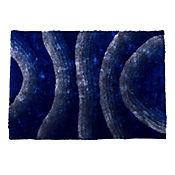 Tapete Silk 3D 160x230 cm Azul