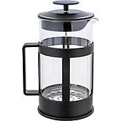 Cafetera a Presión en Vidrio de 1000 cc Negra