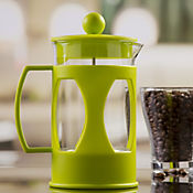 Cafetera a Presión en Vidrio de 600 cc Verde