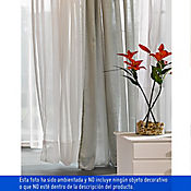 Cortina con Velo 150x220 cm Blanca