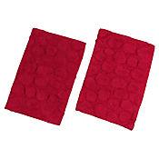 Set x2 Tapetes para Baño Algodón Diseños