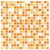 Mosaico Vesubio naranja 30 x 30 cm ve
