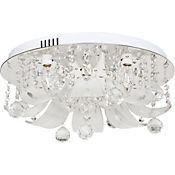 Lámpara Techo Cristal Anderson 5 Luces E14 Led