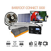 Kit Energia Solar 3000 Ilum/Tv/Dvd/Radio/Mp3/Venti