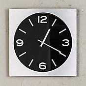 Reloj Silver Classic Negro 35 cm