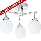 Lámpara de Techo Bilbao 3 Luces Satin