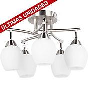 Lámpara de Techo Bilbao 5 Luces  Satin