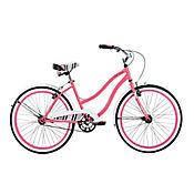 Bicicleta Mujer Goodvibrations 24pulg Coral