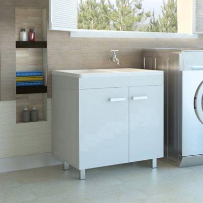 Muebles De Aseo Mueble Lavadero Valento 80 Rta Design C 4ct  $ 318