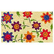Tapete Coco  Girasoles 45x75 cm