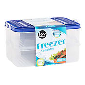 Set x 2 Recipientes de 2600 ml Freezer