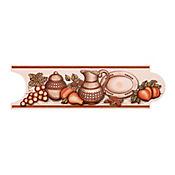 Listello Galesa café 8 x 25 cm