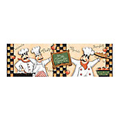Liston bon apetit multicolor 13.5x43 cm