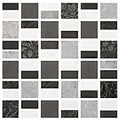 Mosaico Cerámico Pegasus 30x30 cm Negro