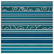 Mosaico Cerámico Atlantida 30x30 cm Azul