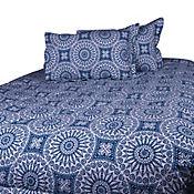 Comforter 144 Hilos King Nazari Azul