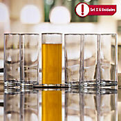 Set 6 Vasos Liberty de 355 cc