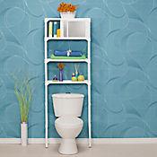 Mueble Organizador para Baño con Caginete y Espejo