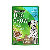 Pouche Dog Chow Cachorros Pollo Tozos 100 gr
