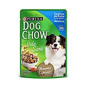 Pouche Dog Chow Festival De Pollo Trozos 100 gr