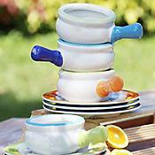 Set de Bowl para Sopa  y Plato Pando Bicolor