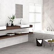 Piso pared Trivento Blanco 32.3x56 cm Caja 1.45 m2