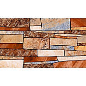 Piso pared Asuan Marrón 32.3x56 cm Caja 1.45 m2