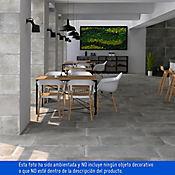 Porcelanato Industrial gris 45x90 cm Caja 1.62 m2
