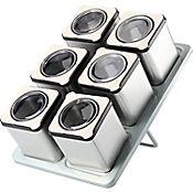 Set x 6 Especieros + 1 Rack Magnético