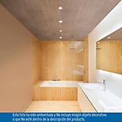 Revestimiento de cielo raso en PVC 3m2, Color Candelaria Liso, Unidad de 3x0.25m, Paquete x 4 Unidades
