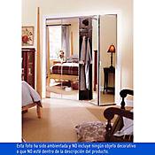 Puerta closet plegable tipo espejo