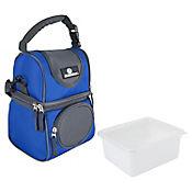 Nevera Soft Con 2 Áreas y Caja Azul