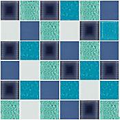 Mosaico Cerámico Lirio 30x30 cm Multicolor
