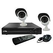 Kit de videoseguridad DVR 2 Cámaras Expandible A 4 700TVL 500GB P2p VTA-83080